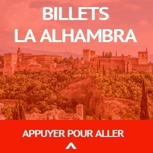 Acheter billets La Alhambra Granada